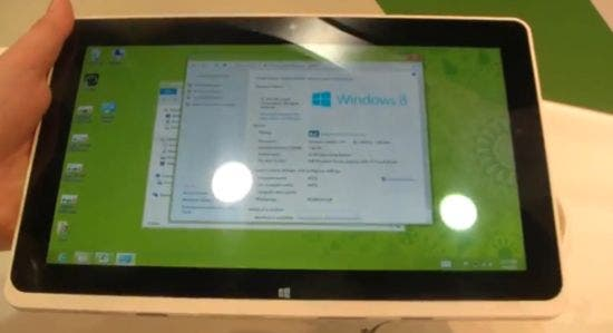 Acer Iconia Tab W510 Hands On
