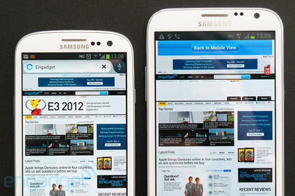 Samsung Galaxy Note 2 im Hands-on Video