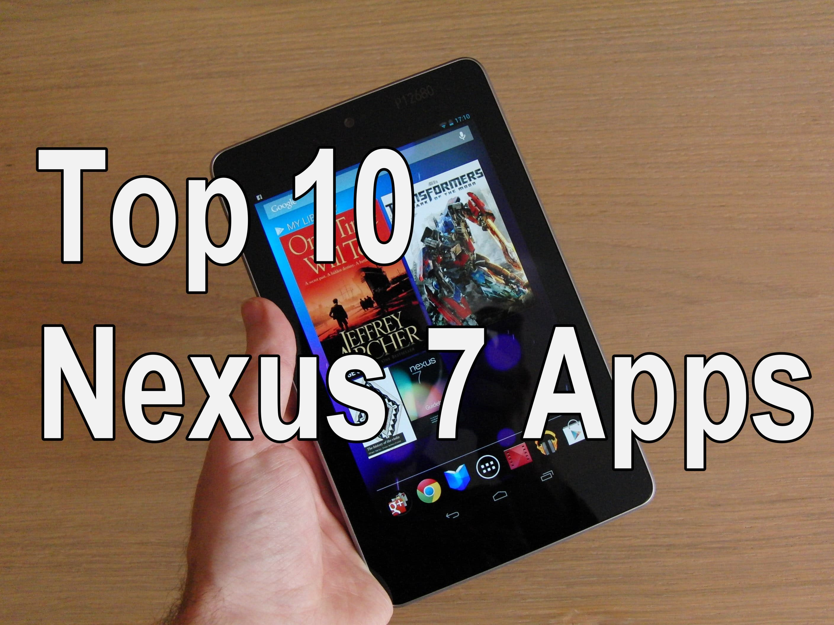 Top 10 Nexus 7 Apps