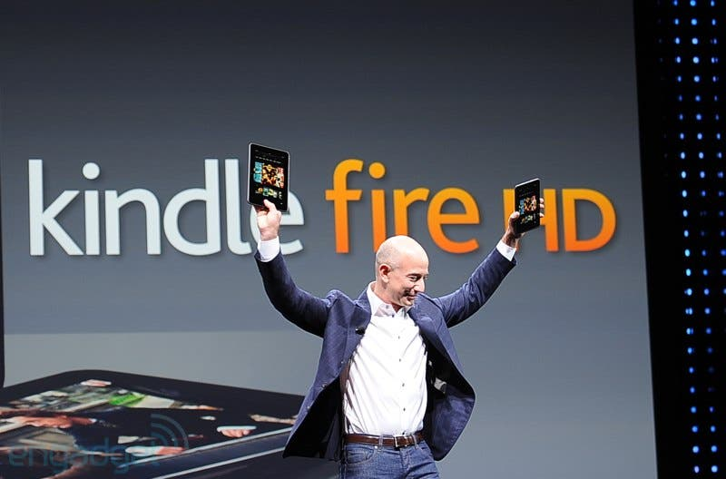 Vergleich: Amazon Kindle Fire vs. Google Nexus 7 *Update*
