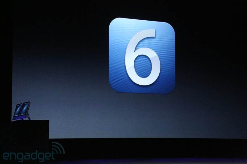 Apple-Event in San Francisco: iOS 6 vorgestellt