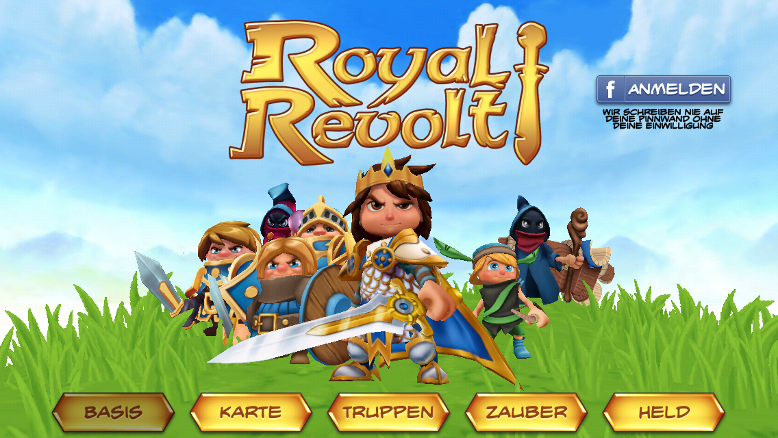Royal Revolt -Splashscreen