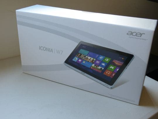 Acer Iconia Tab W700 Full HD Windows 8 Tablet im Unboxing-Video