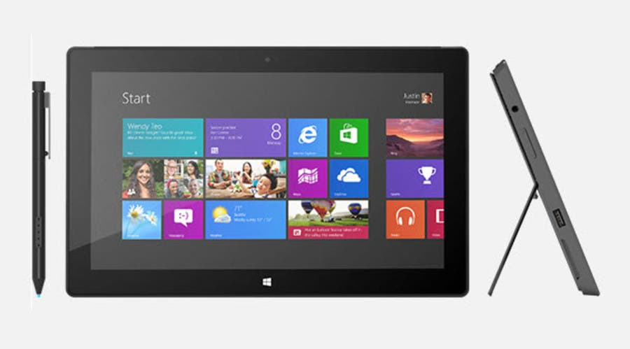 Microsoft Surface with Windows 8 Pro-900-90