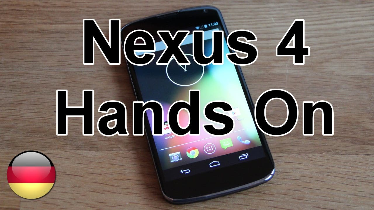 Nexus 4 Hands On 1