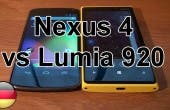 Nexus 4 vs Lumia 920
