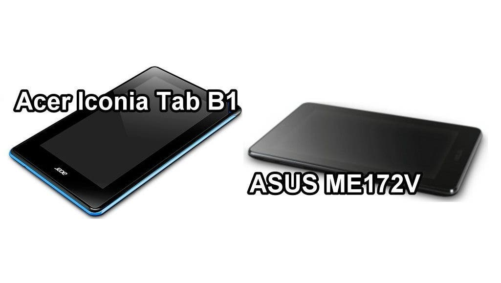 ASUS vs Acer 7-inch