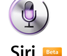 Siri Beta Badge Logo