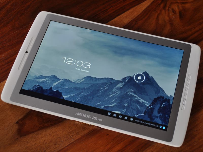 Archos 101 XS Tablet mit Lockscreen
