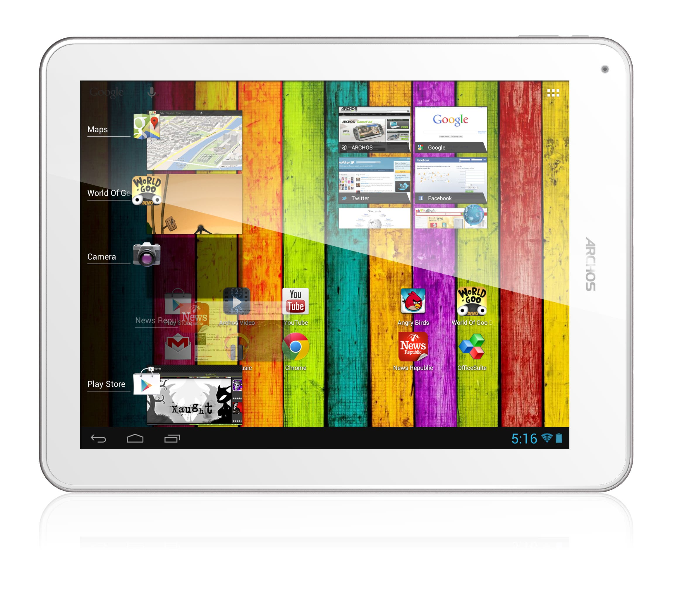 Archos 97 Titanium HD: Android Jelly Bean Tablet mit Retina-Display