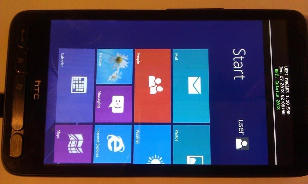htc hd2 windows rt 1