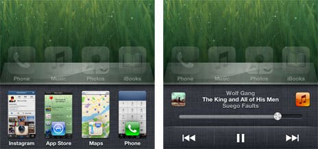 iOS 6 App-Switcher
