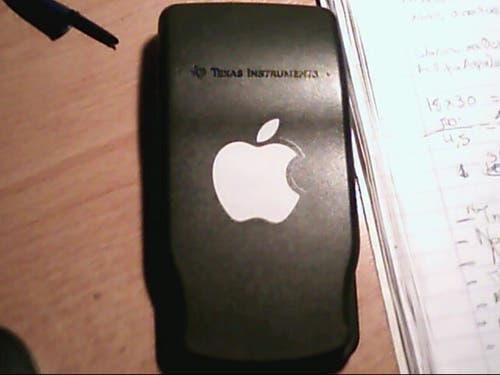 texas instruments apple calculator