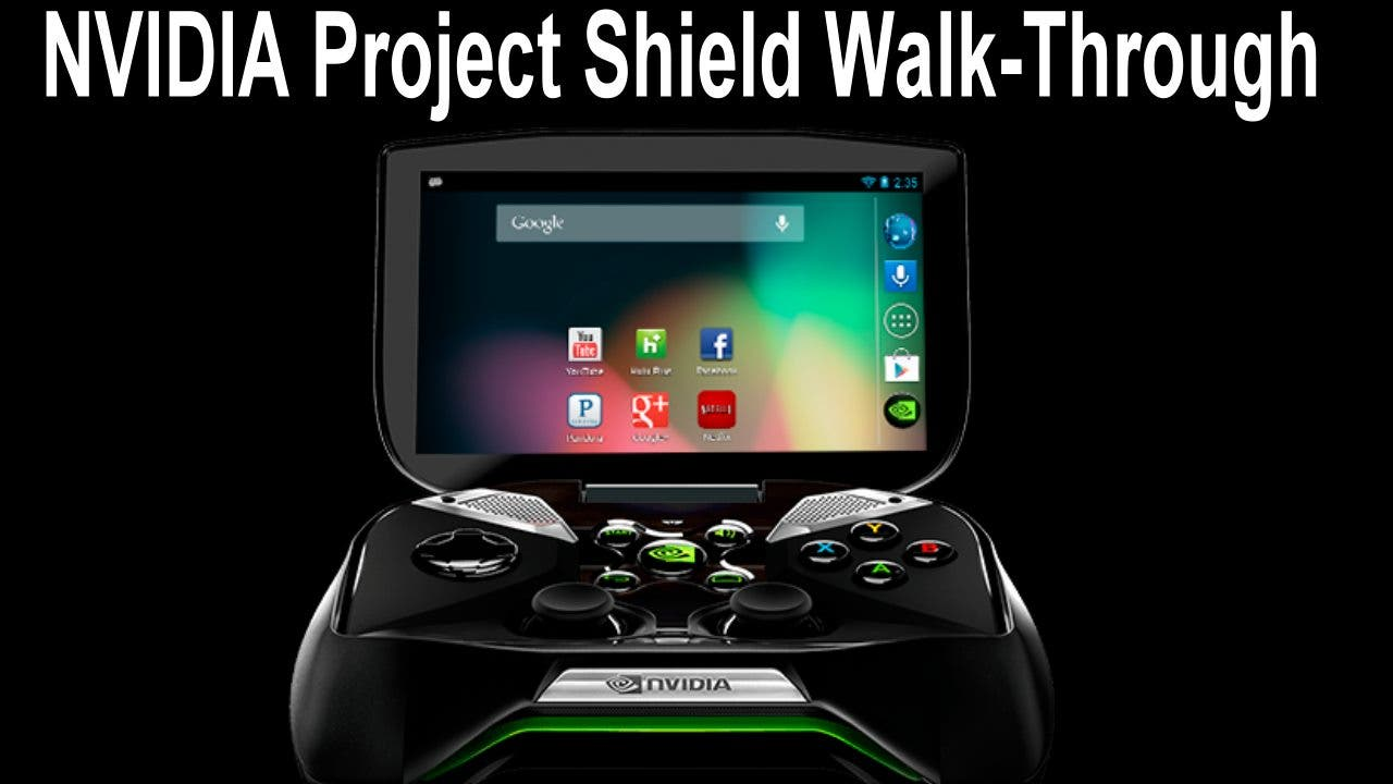 NVIDIA Project Shield Walk