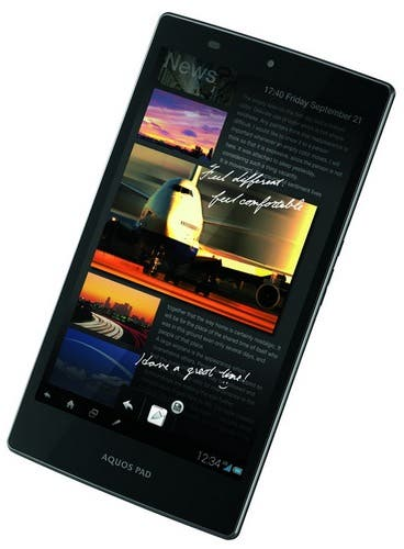 CES 2013: Sharp 7 Zoll AQUOS Pad SHT21 mit IGZO Display im Hands-on