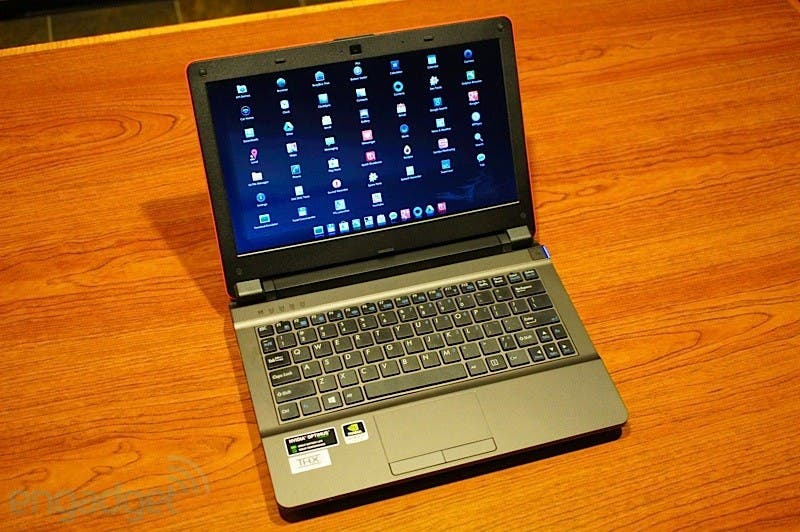 CES 2013: OriginPC bringt 11.6inch Gaming-Notebook mit Intel-CPU & eingebautem CUPP Android-Board