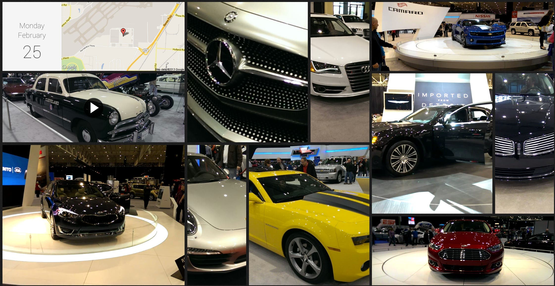 Cleveland-Auto-Show-Zoe-HTC-One-Photo-Video-Sample