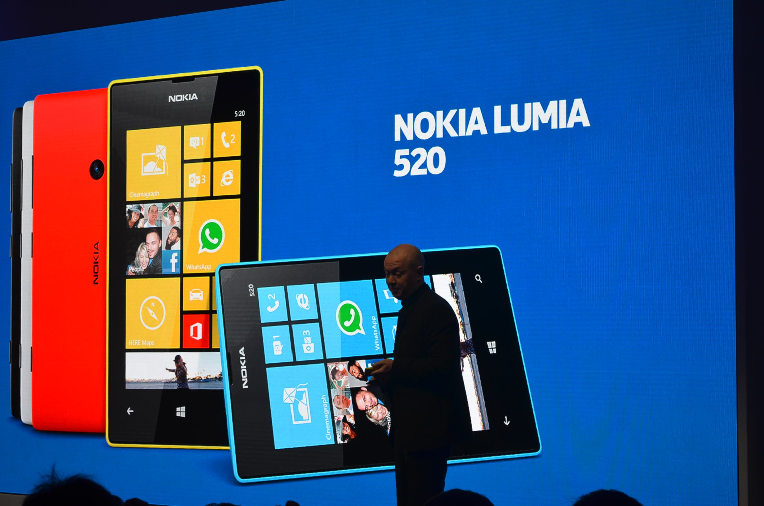 MWC: Nokia Lumia 520 im deutschen Hands-on Video