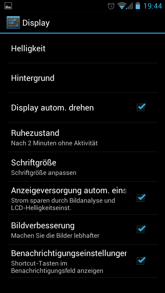 Huawei Ascend P1 Test Screenshots 4