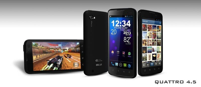 blu products quattro 4.5 1