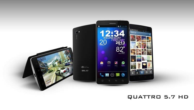 blu products quattro 5.7 hd 1