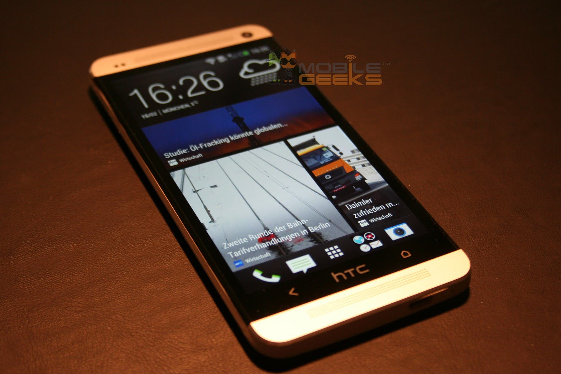 HTC One (M7) Hands On und alle Daten [Video]