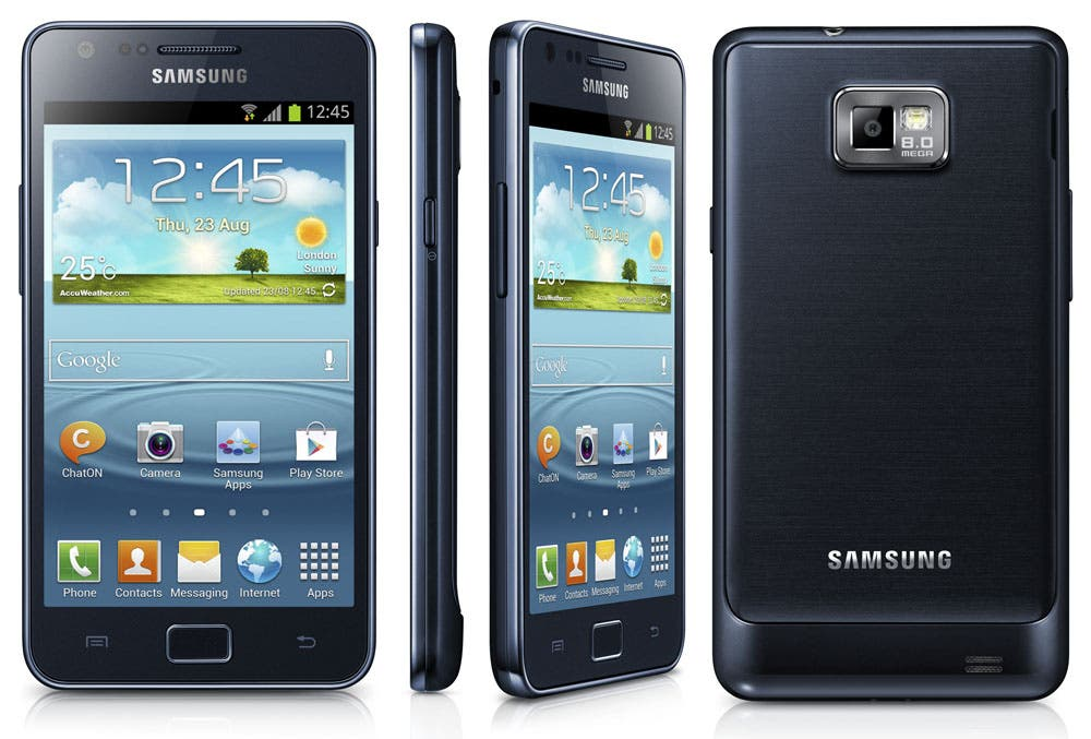 "Samsung Galaxy S2: Update auf Android 4.1.2 ""Jelly Bean"" läuft an"