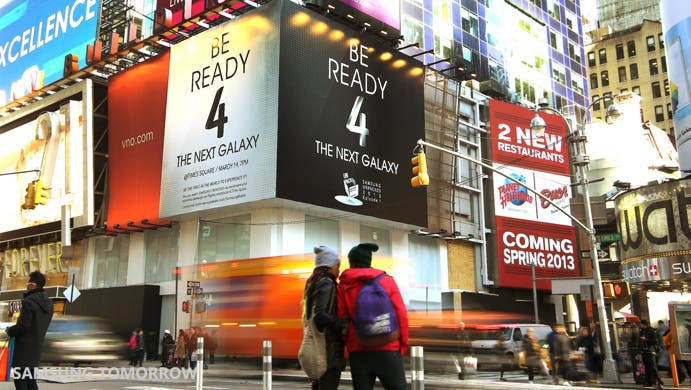 Be ready 4 the next galaxy Times Square 01