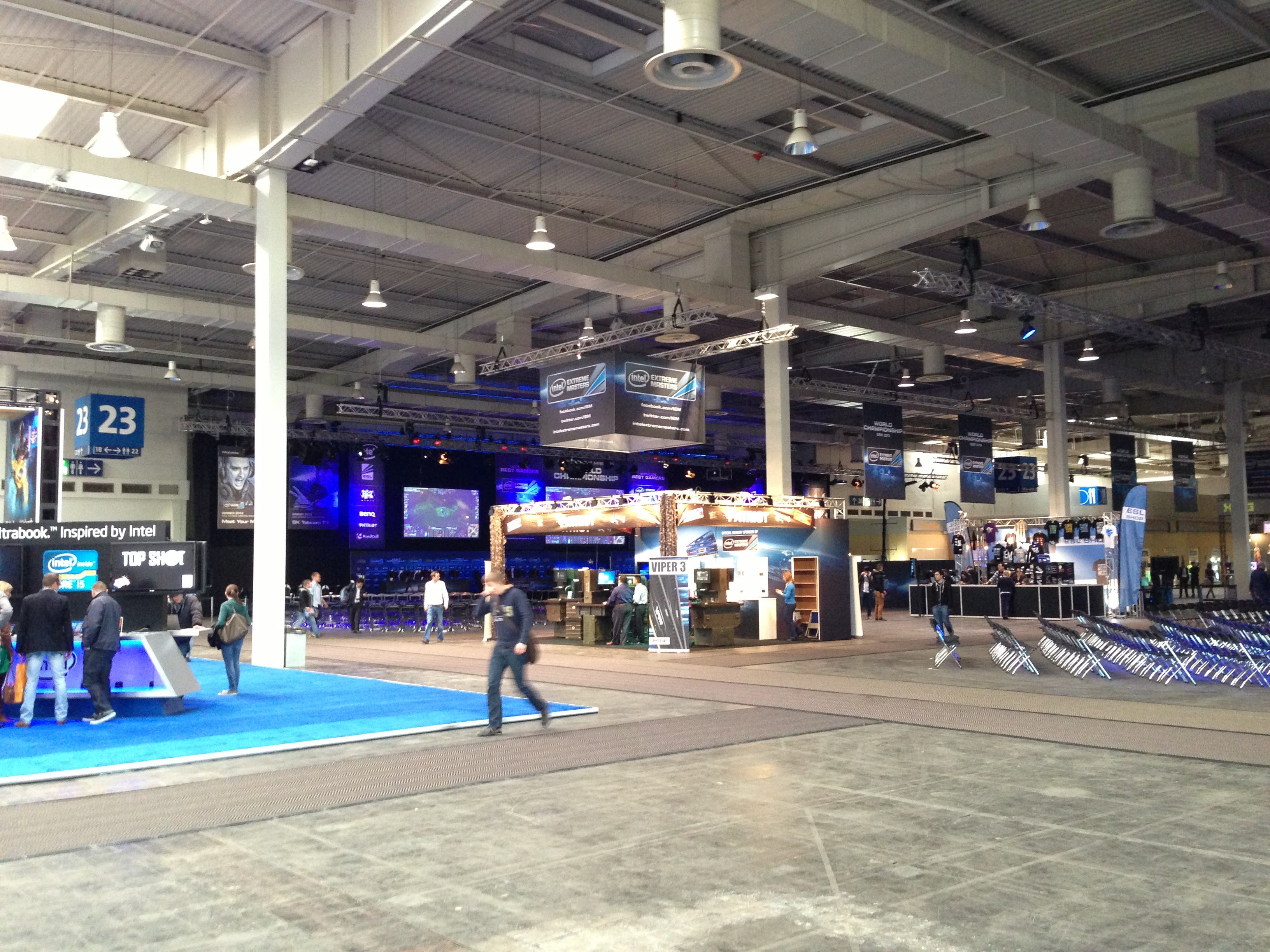 Intel CeBIT 2013 Hall 23