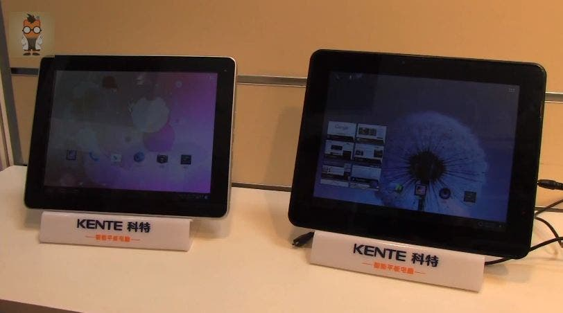 CeBIT: Kente K10 Series Tablet mit Samsungs Octa-Core Prozessor