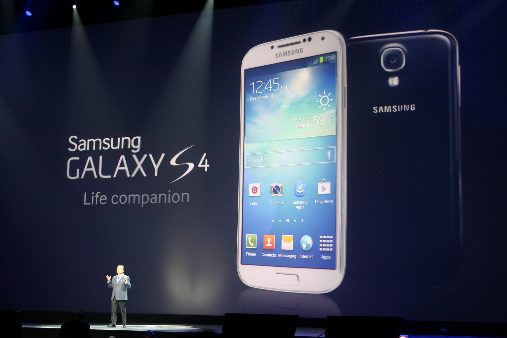 Samsung Galaxy S4 Launch 18