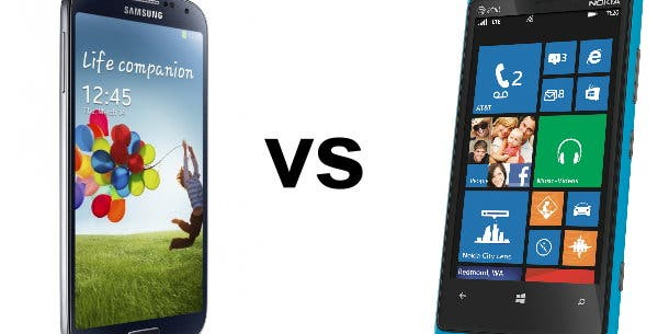 Galaxy S4 vs Lumia 920