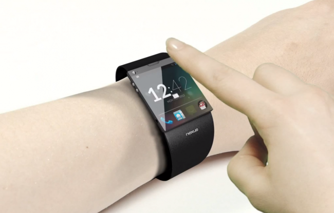 Google Nexus Smartwatch Konzept