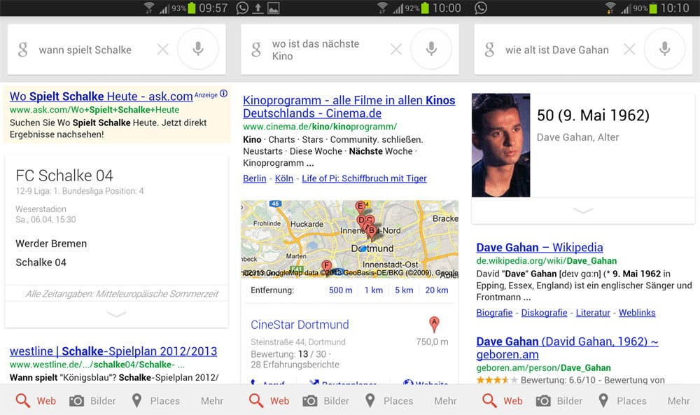 Google-Now-Sprachausgabe