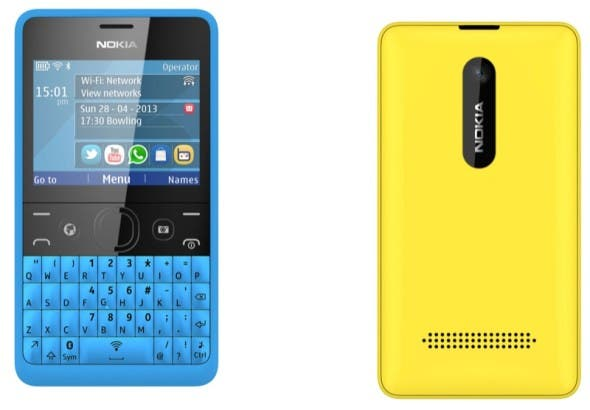 Nokia Asha 210: Neues Feature Phone mit QWERTZ-Tastatur