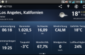 Yahoo! Wetter auf Android