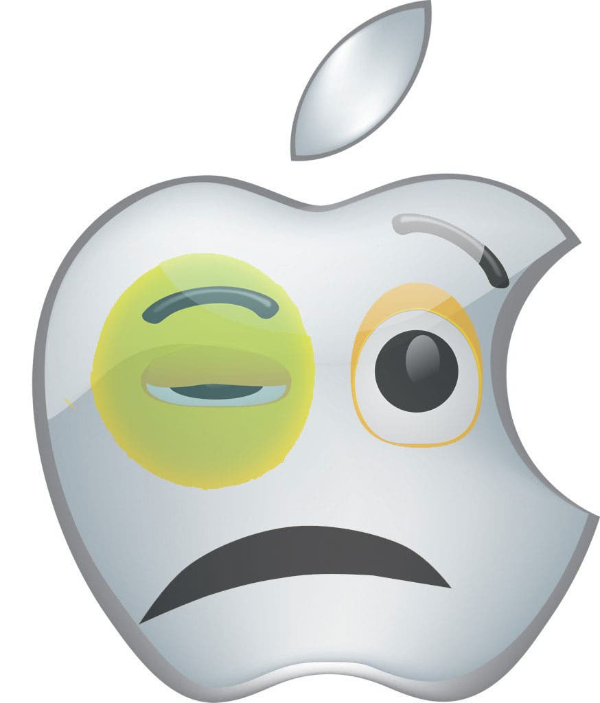 apple-sad