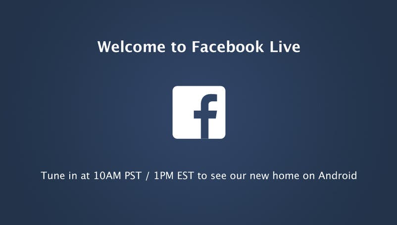 facebook event android home