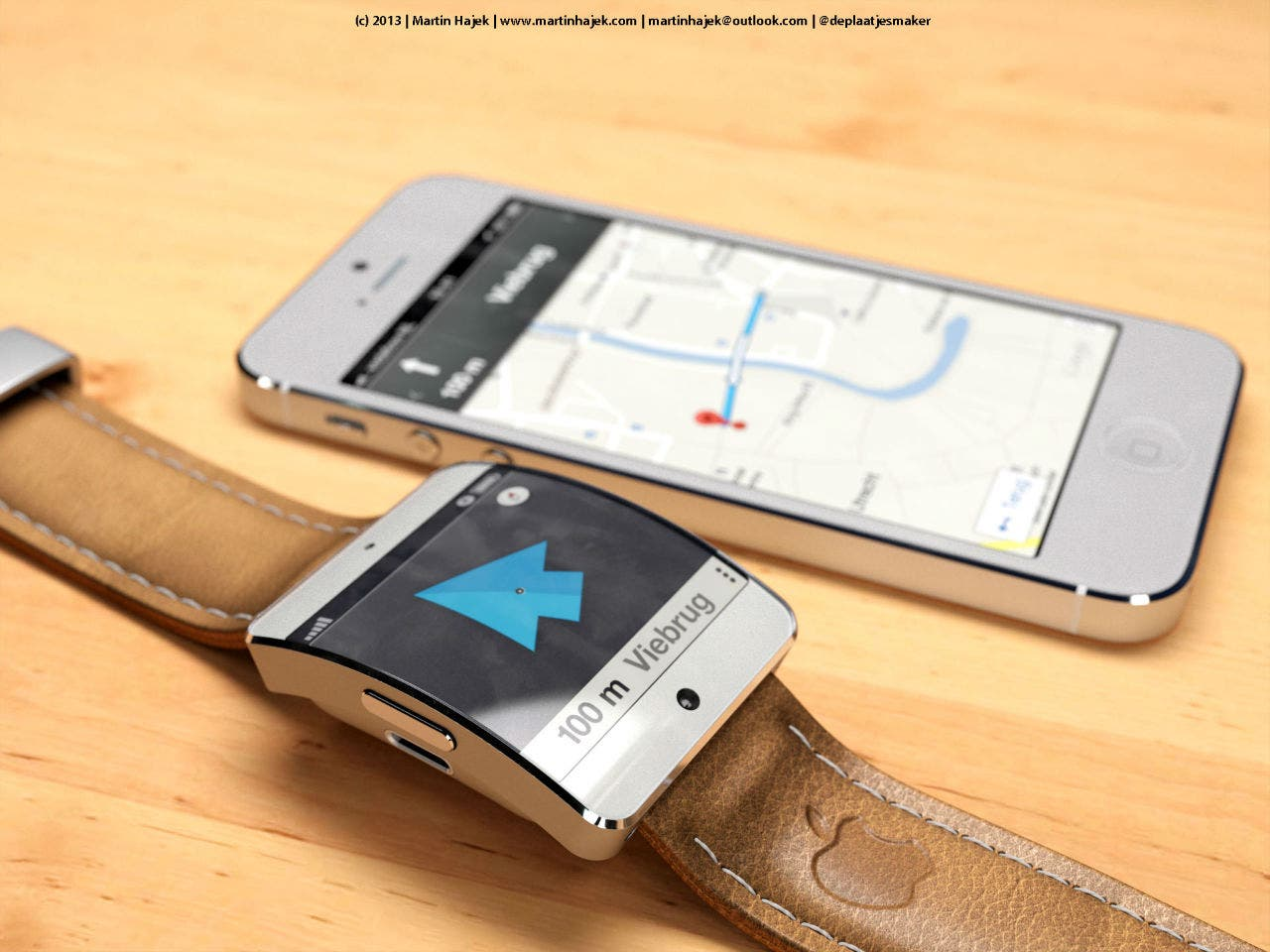 iWatch Maps
