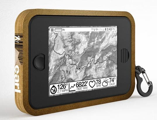 Earl: Outdoor Android-Tablet mit Solarenergie und E-Ink-Display