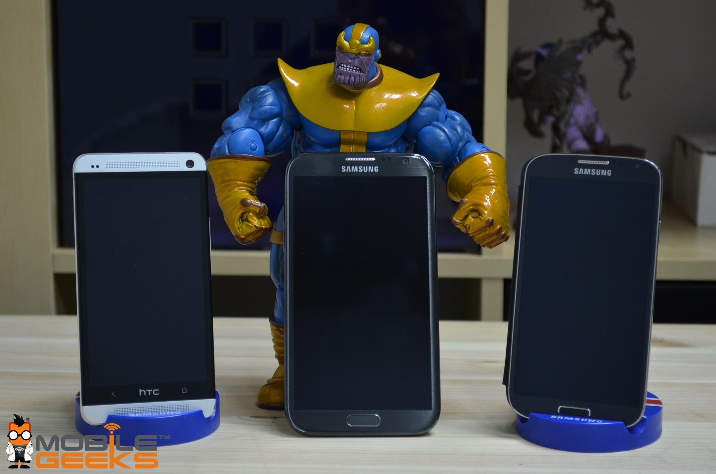 Galaxy S4 vs HTC One vs Galaxy Note 2