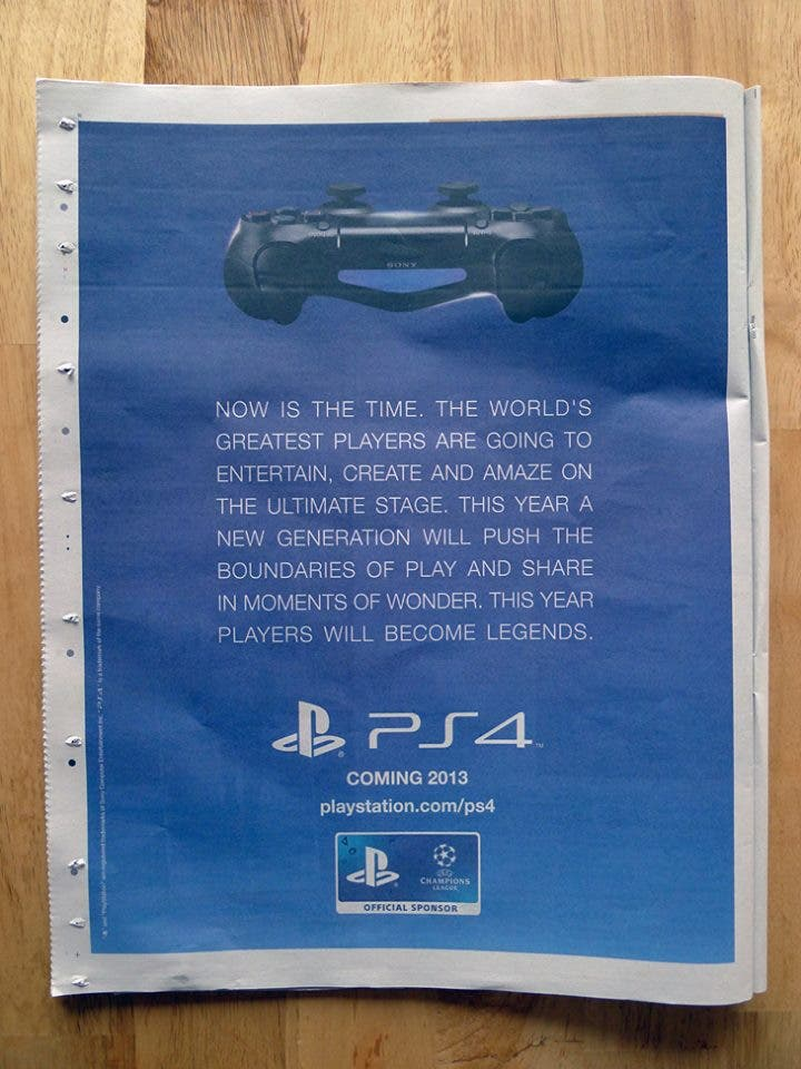 Playstation 4 Ad