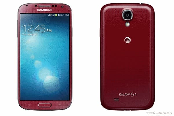 Samsung Galaxy S4 Aurora red