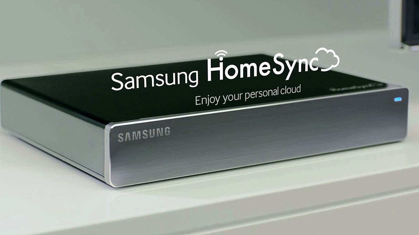 Media Server Samsung HomeSync im Video