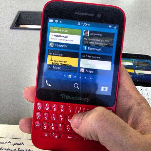 blackberry r10 red