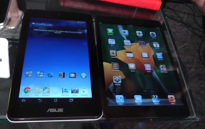 ASUS MeMo Pad HD 7 vs Apple iPad mini