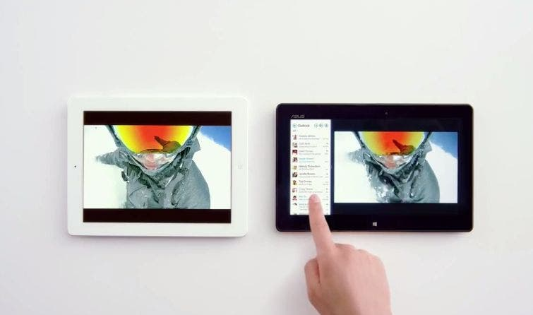 Apple iPad vs Windows 8 Tablet