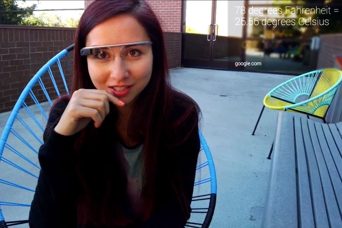 Google Glass Search