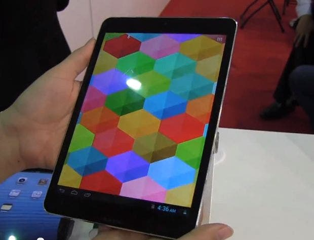 Computex: Pierre Cardin iPad mini-Klon mit Rockchip Quad-Core im Hands-on