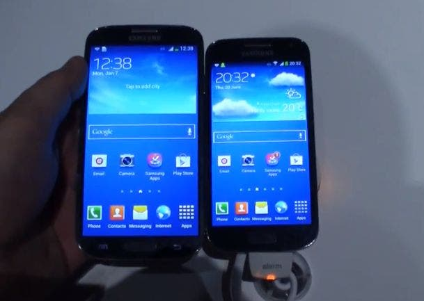 Samsung Galaxy S4 vs Galaxy S4 mini